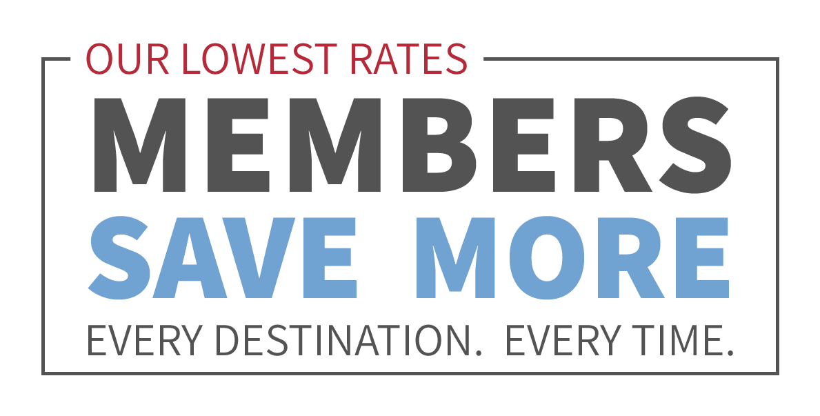 Sign Up as a RedAwning Member and Save on Every Booking