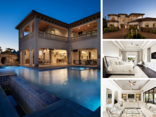 W278- 8 Br Luxury Villa With Golf and Water Views