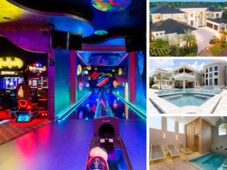 W255- 9 Bedroom Luxury Mansion On Reunion Resort