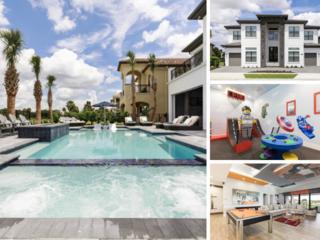 W308- 9 Br Luxury Reunion Resort Mansion