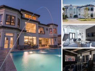 W172- 11 Br Three-Floor Luxury Reunion Mansion