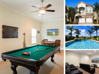 W230- 5 Bedroom Luxury Pool Home- Golf Views!