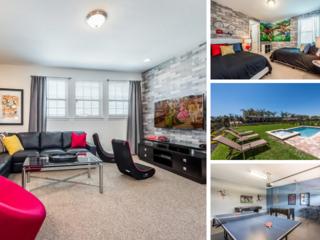 EC134- Contemporary 6 Bedroom Encore Resort Villa