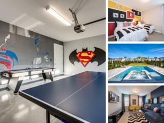 EC269- 5 Br Encore Home With Super Hero Games Room