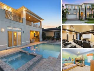 W343- 9 Br Luxury Modern Reunion Pool Villa