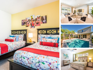 EC258- Encore Resort 6 Bedroom Pool Home